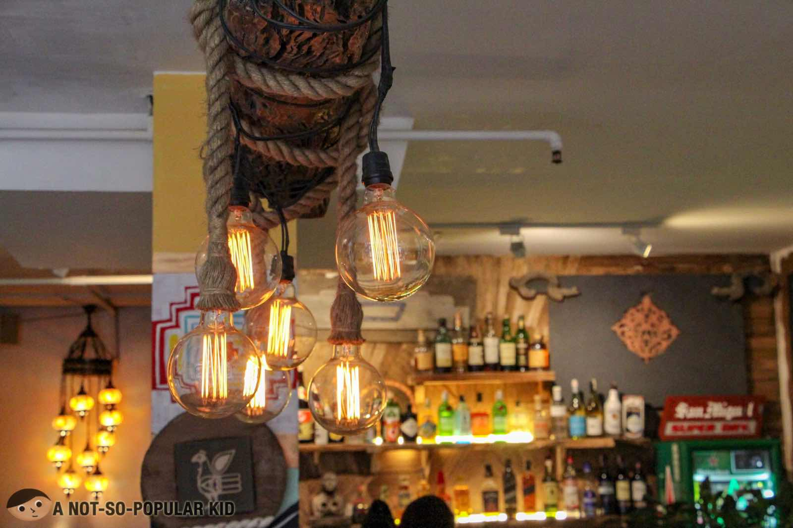 Interior of Kite Kebab Bar in Makati City