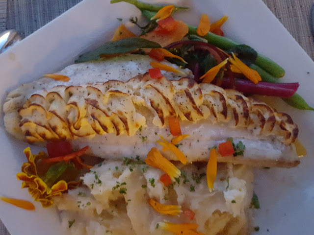 Divine stuffed haddock at Rodd 1809 in Miramichi, New Brunswick - one of the best meals I ate this year