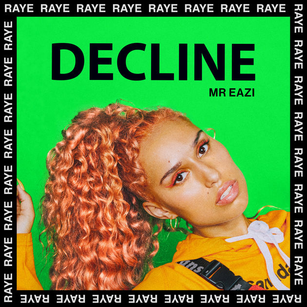RAYE - Decline (Acoustic) - Single Cover
