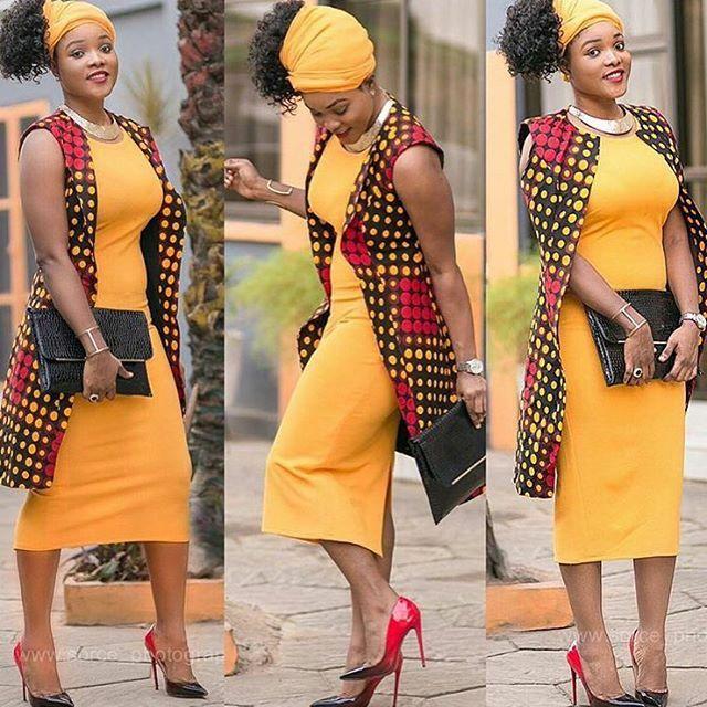 LATEST AFRICAN PRINT BLAZER DESIGNS FOR PRETTY WOMEN 2