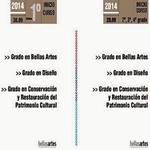 Inicio de curso 2014-2015