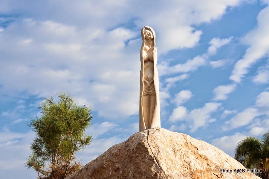 Латрун скульптура. Экскурсии в Израиле.