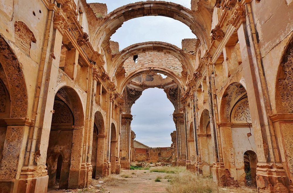 Belchite The Ruins Of The Spanish Civil War Amusing Planet