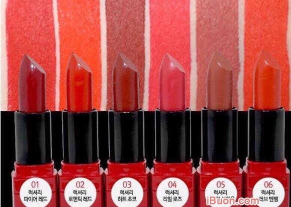 TOP 5 Thỏi son màu đỏ Hàn Quốc có giá bình dân được ưa chuộng nhất + Hình 8