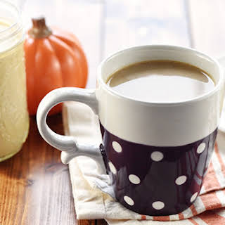 All-Natural Pumpkin Spice Coffee Creamer.