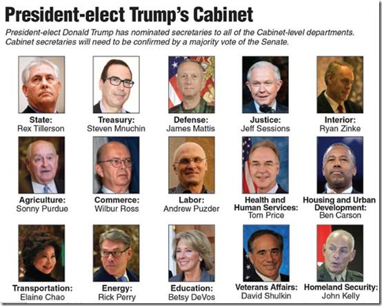 Trump cabinet -3