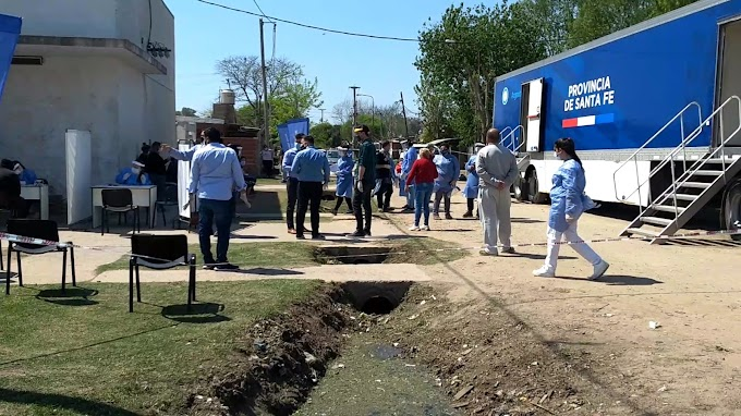 Llegó el Plan Detectar a Villa Gdor Gálvez