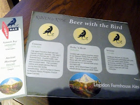 Raven and Rose: Beer with the Bird with Logsdon Farmhouse Ales and Steve's Cheese