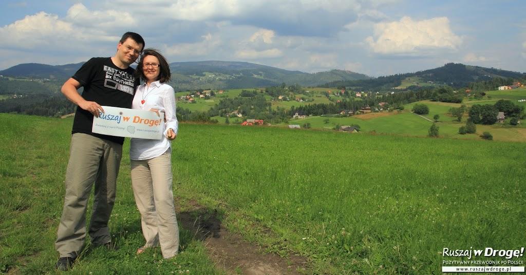 Koniaków - tak pięknie położona wieś w Beskidach!