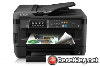 WIC Reset Utility for Epson WorkForce WF-7620 Waste Ink Counter Reset
