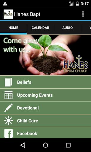 Hanes Baptist Church App