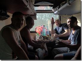 rencontre avec des mineurs se rendant en Iakoutie