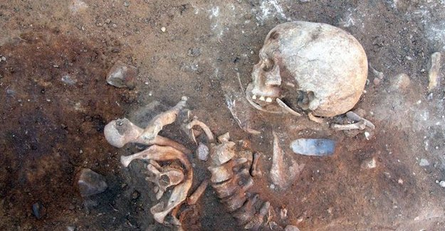 Ancient German skeletons reveal bizarre burial practices