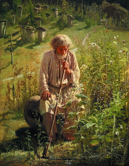 Ivan Kramskoy - Bee-Keeper