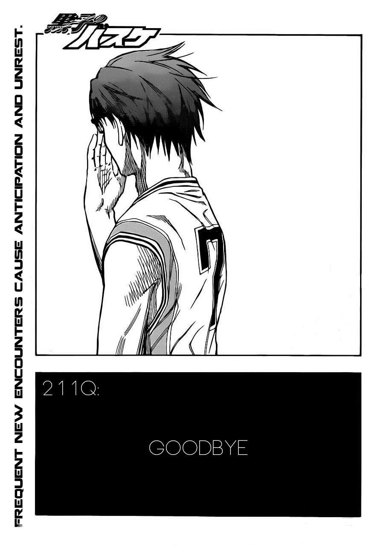 Kuroko no Basket Manga Chapter 211 - Image 01