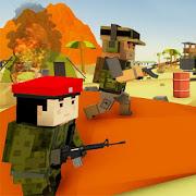 Blocky Army Base: Modern War Strike MOD APK 1.0 (Unlimited Cash)