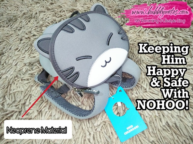 KEEPING HIM HAPPY & SAFE WITH NOHOO!