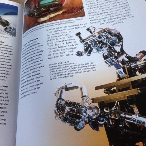 Buch über Roboter