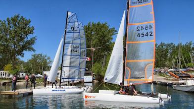 Photo: Intro catamaran clinic at JTown