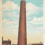 Shot Tower at Fayette and Front Sts.