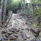 Obres de restauració del pont medieval de la bertrana de l'esquirol - F.Pérez