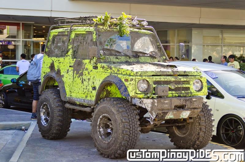 Neon Ninja Monster Suzuki Samurai Custom Pinoy Rides Car Photography Manila Philippines pic4