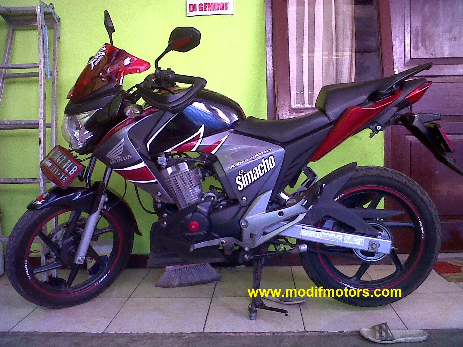 Modifikasi Honda Megapro 2008
