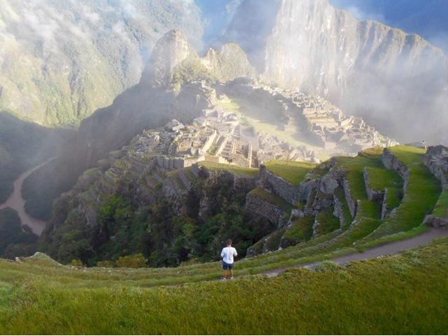 travel to Machu Picchu.
