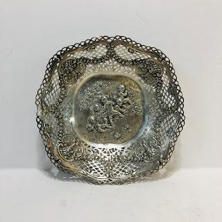 800 Silver Repoussé Bowl