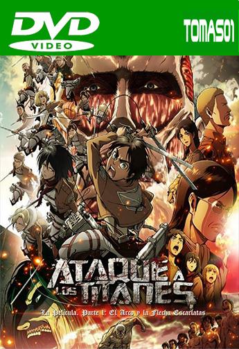 Ataque a los Titanes, la película. Parte 1 (2014) DVDRip