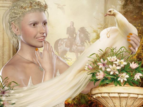 White Bird Girl, Magic Beauties 1