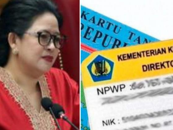 Suara Lantang Puan Maharani Soal Aturan Penyatuan NPWP dan KTP
