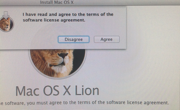 Software LIcense Agreement read and understood