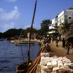 Lamu Town (front de mer) (Kenya)