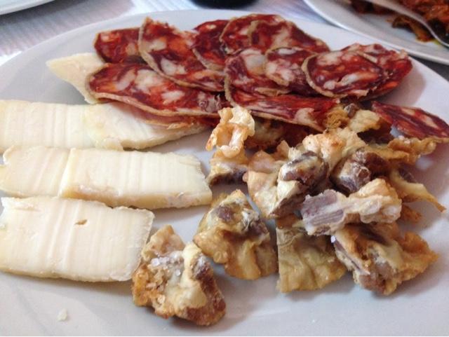 Taberna do Ramos, comida serrana y casera