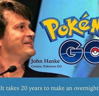 sejarah terciptanya game pokemon go yang diciptakan john hanke