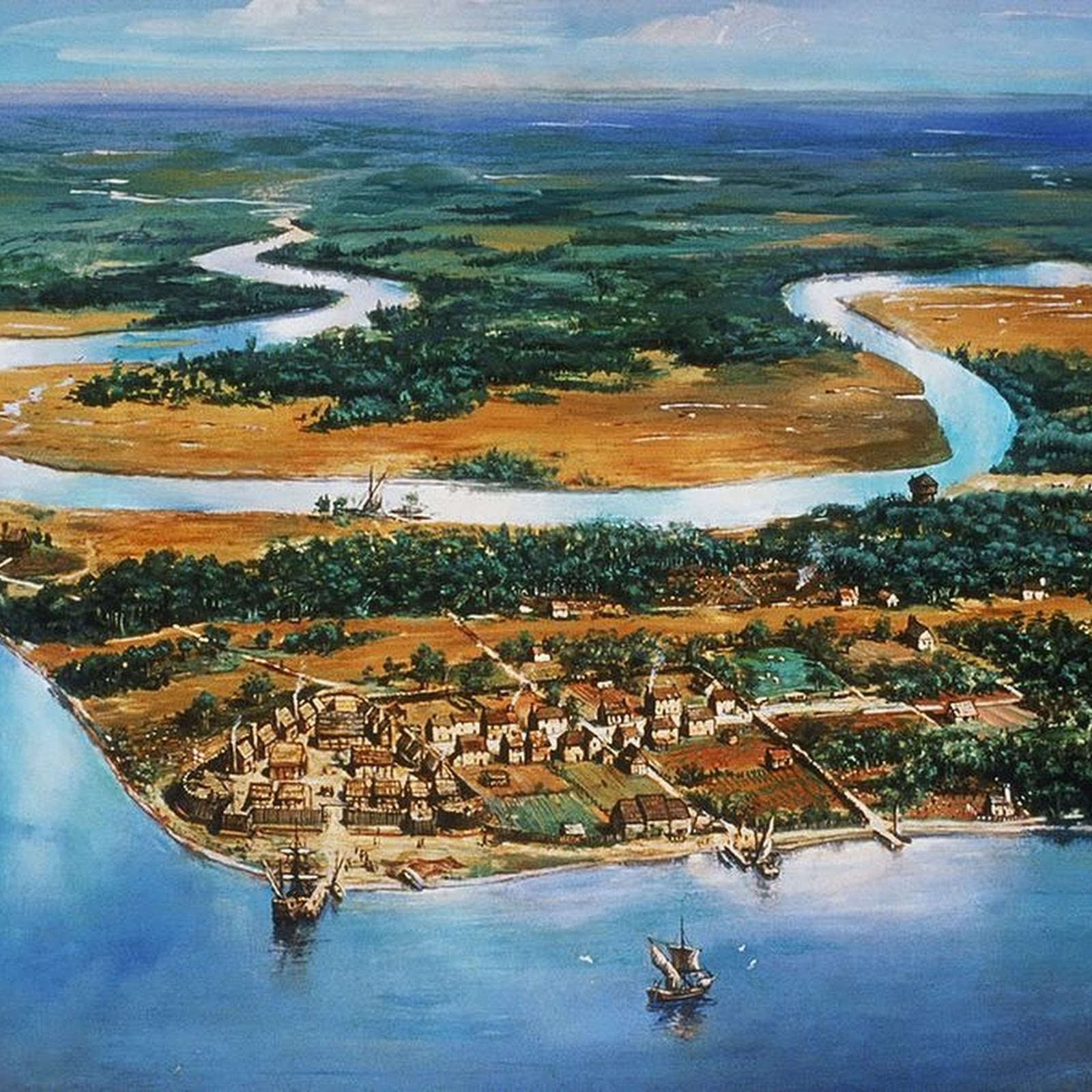 Jamestown: The First English Settlement in America