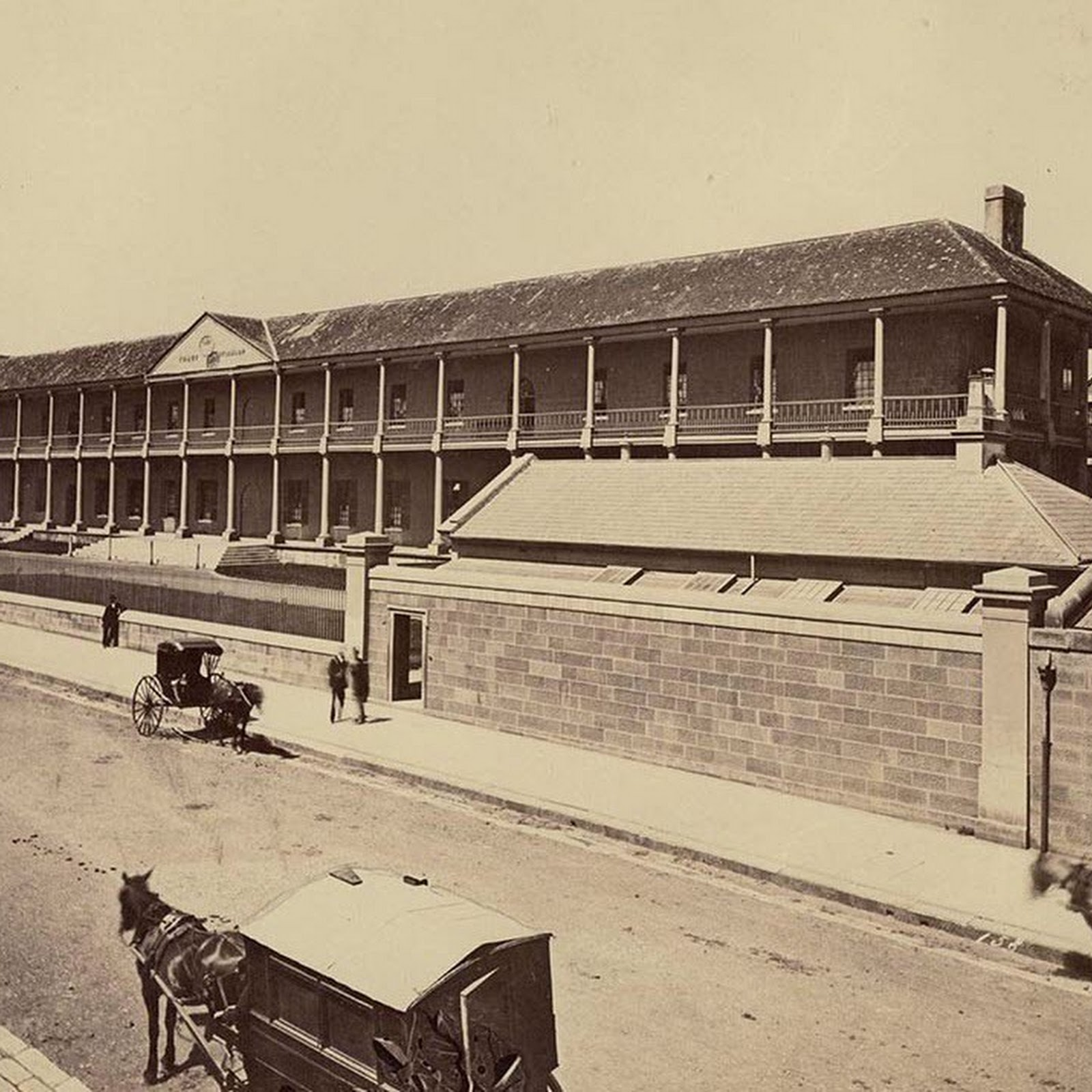 The Sydney Hospital Built By Rum