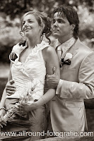 Bruidsreportage (Trouwfotograaf) - Foto van bruidspaar - 023