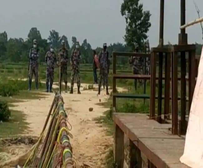 मधुबनी में इंडो-नेपाल सीमा पर नेपाली सुरक्षा बलों के व्यवहार में भड़के लोग