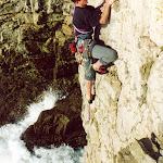 2000.01.02 Swanage Tim Dunsby 1st Ascent Old Masters E1.jpg