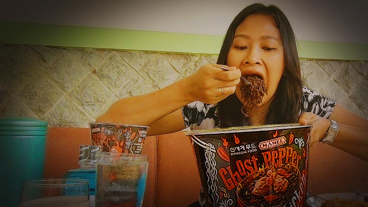 Pedasnya Merasuk Merajalela Mie Instant Ghost Pepper Noodle