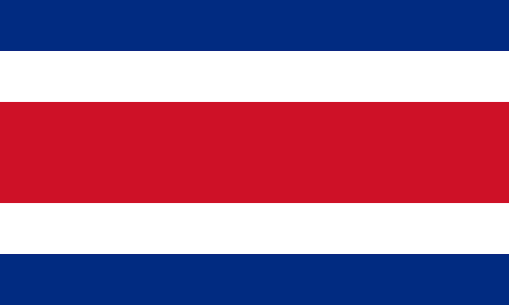 Bandera de Costa Rica para descargar