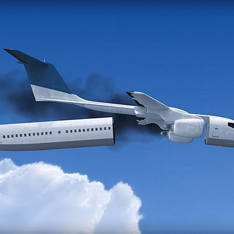 Plane With Detachable Cabin Makes Surviving Air Crash Possible