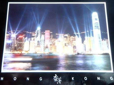 postcards, postcard giveaway, Hong Kong