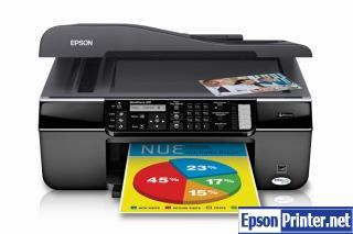 Reset Epson WorkForce 310 laser printer by software