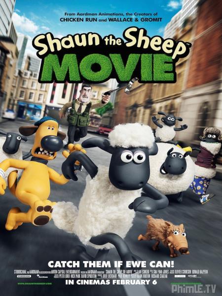 Phim Cừu Quê Ra Phố - Shaun The Sheep Movie - VietSub