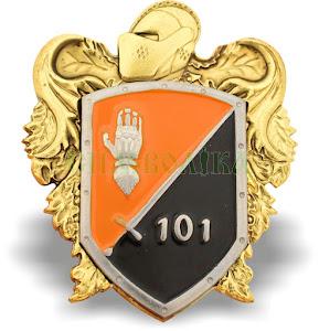 Нагрудний знак 101 окрема бригада охорони ГШ ЗСУ