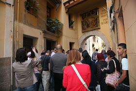Portal de la Valldigna. Puerta abierta en el muro arabe de Balasniya. Valencia (España).