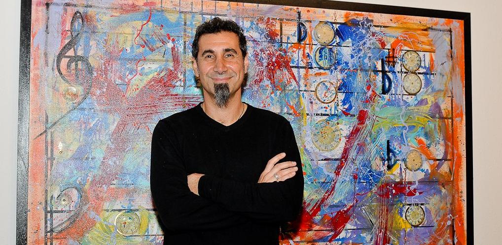 Serj Tankian fará nova exposição artística em junho
